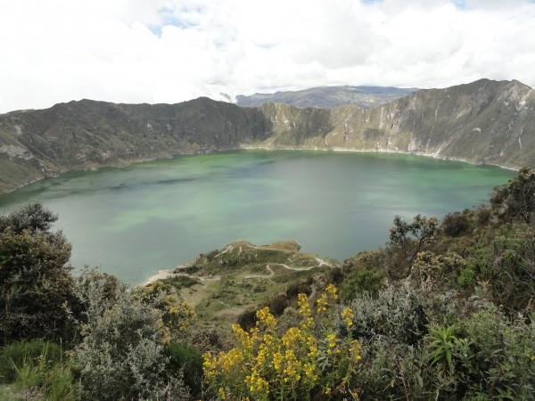 Quilotoa Crater, Ecuador