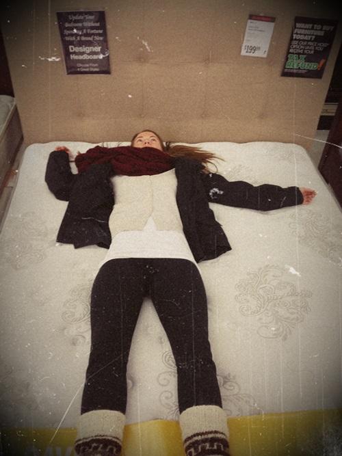 mattress hunting