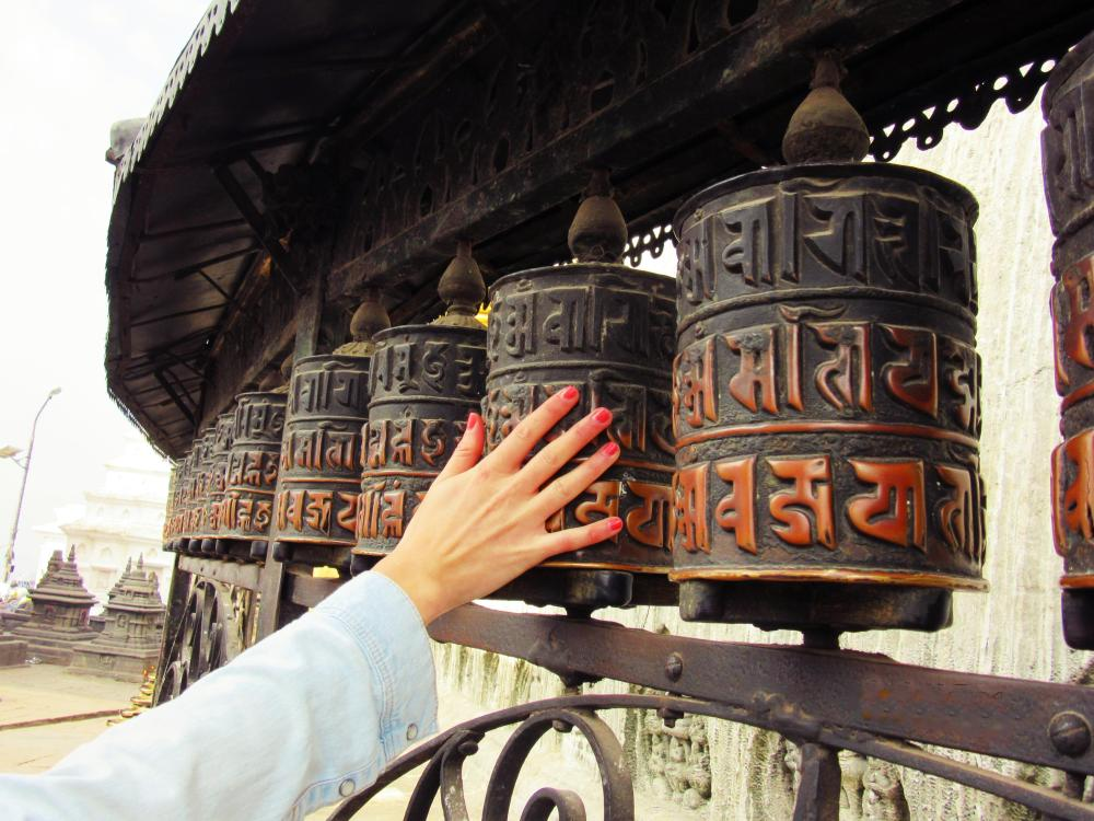 prayer-wheels-Swayambhunath